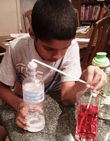 Riley Science Experiment