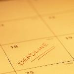 Calendar Deadline