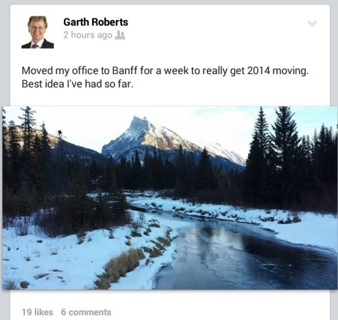 Garth In Banff