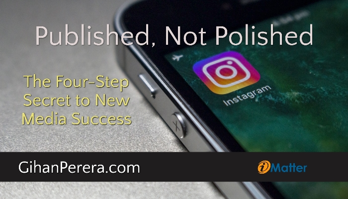 Published, Not Polished - The Four-Step Secret to New Media Success
