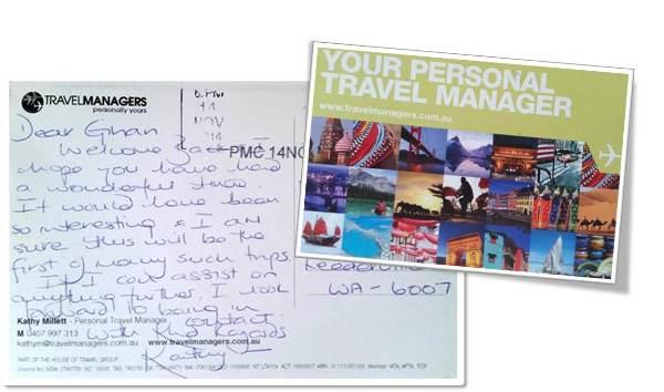 Kathy Millett Postcard