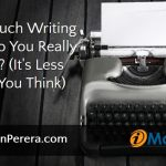 How Much Writing Time Do You Really Need? (It's Less Than You Think)