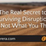 The Real Secret to Surviving Disruption (It's Not What You Think)