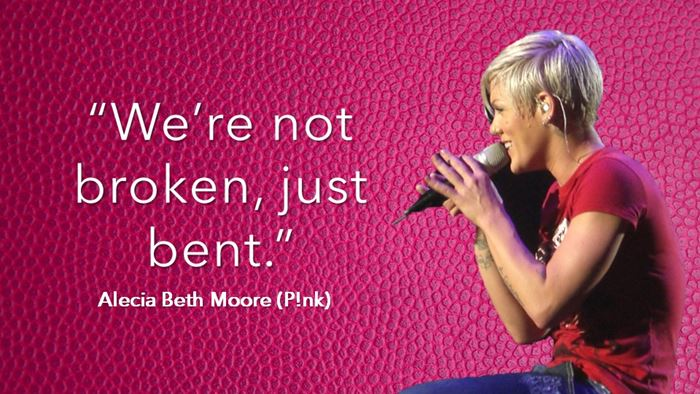 We're Not Broken, Just Bent